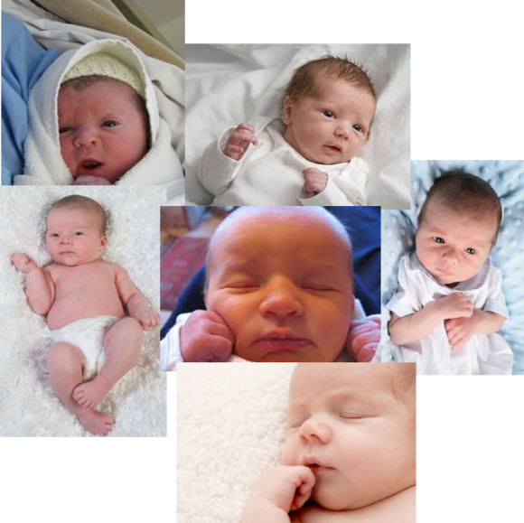 All Newborn Babies Look Alike (so I don't need a picture of yours)