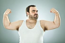 Pictures of fat hairy men