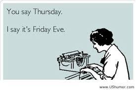 Thursday 5