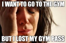 Lost at the gym