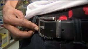 frayed belt