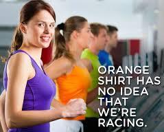treadmill race