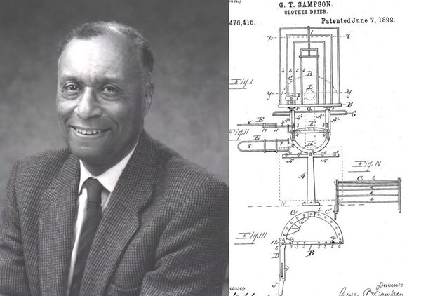 Inventor Of The Clothes Dryer ~ Discoverytuesday clothes dryer george t sampson